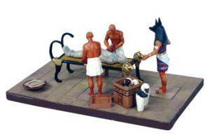 Cenas do Antigo Egito II - A MUMIFICAÇÃO