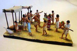 Cenas do Antigo Egito V - MERCADO EGÍPCIO