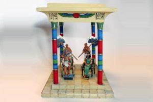Cenas do Antigo Egito I - O FARAÓ E A ESPOSA REAL