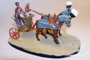 Cenas do Antigo Egito III - O FARAÓ EM CARRO DE GUERRA