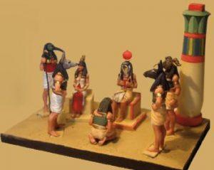 Cenas do Antigo Egito VIII - O JULGAMENTO NO ALÉM